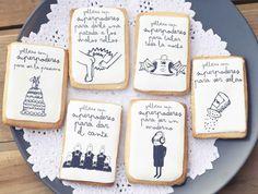 Regalos con buen rollo para los invitados a la boda: Galletas superpoderosas de Mr. Wonderful