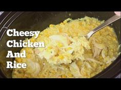 Slow Cooker Cheesy Chicken And Rice (The downside of being a Swan Princess)   Southern Plate