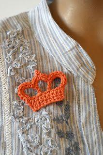 Haken voor kinderen: Kroontje haken! Tutorial with pictures (crochet crown)