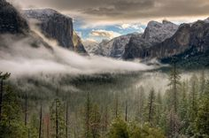 Winter Sunrise on Yosemite Valley by Jeffrey Kreulen on 500px