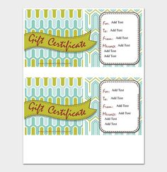 Editable Gift Certificate Template  #giftcertificate #freegiftcertificatetemplates #printablegiftcertificate #blankgiftcertificates #editablegiftcertificatetemplate