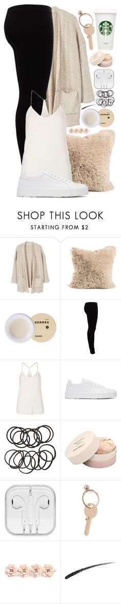 """#29"" by oneandonlyfashion ❤ liked on Polyvore featuring MANGO, Korres, Gestuz, Goldie, Jil Sander, H&M, Salvatore Ferragamo, Maison Margiela, J.Crew and Hourglass Cosmetics"