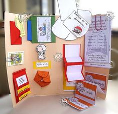 More interactive notebook designs to use on a trifo;d board. Lap Books, Book Projects, School Projects, Diy And Crafts, Crafts For Kids, Paper Crafts, Lap Book Templates, Templates Free, Science Fair