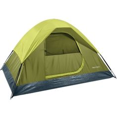 $25.00 on sale as of 6/8/16.  Sleep under the stars with the Field & Stream® Quad Dome Tent. Built for three-seasons, this tent offers ventilation on those warm summer nights and a rainfly for spring showers, plus a bathtub style floor keeps seams off the cold ground in the fall. With waterproof coating, this tent boasts protection during rainy days and nights, and the freestanding design is easy to set-up, leaving more time for fun on your next camping adventure!