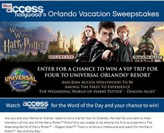 Access Hollywood's Orlando Vacation Sweepstakes - Sweeps Maniac