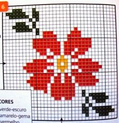 <center>Viviane Alfêna: Viva a primavera! Mini Cross Stitch, Cross Stitch Rose, Cross Stitch Borders, Cross Stitch Flowers, Cross Stitch Charts, Cross Stitch Designs, Cross Stitching, Cross Stitch Embroidery, Cross Stitch Alphabet Patterns