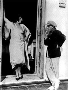 1925 - Kiki de Montparnasse & Man Ray.