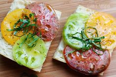 Heirloom Tomato Sandwich by Nikiboy