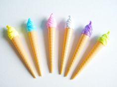 ice cream kawaii pens