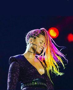 Alicia Keys gorgeous human goddess with voice of silk