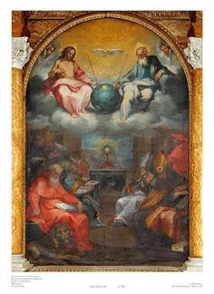 El lienzo no pasaría de ser una pintura mas ,sino fuera por el objeto que ocupa el centro de la escena superior y termina acaparando toda la atención.