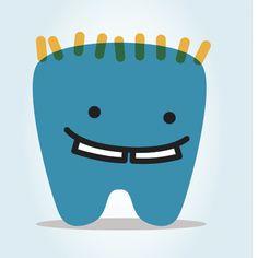 cute children's dentist online logo