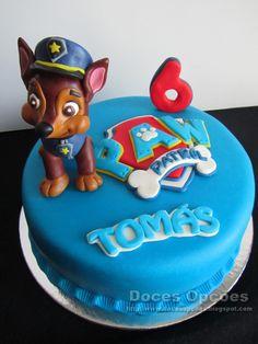 bolos de aniversário patrulha pata - Pesquisa Google