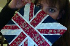 Union Jack en Liberty... Just for fun #idacouture