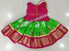 Kids Clothes Subscription Source by pranyusha Blouses Kids Dress Wear, Kids Gown, Dresses Kids Girl, Kids Outfits, Children Dress, Kids Wear, Kids Indian Wear, Kids Ethnic Wear, Baby Lehenga