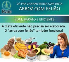 """Dá pra Ganhar Massa com Dieta """"Arroz com Feijão"""" http://raisdata.com/blog/da-pra-ganhar-massa-com-dieta-arroz-com-feijao/ … #raisdata #rais #saúde #bigdata   A dieta eficiente não precisa ser elaborada. O """"arroz com feijão"""" também funciona e é bom, barato e eficiente."""