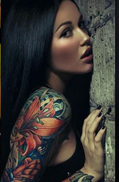 Pretty Girly Tattoos Ideas  In another life maybe; )