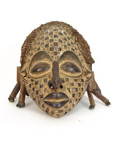 West African Chokwe Mask | One of a Kind