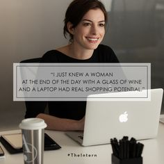 Truth. #TheIntern in theaters #September25th.
