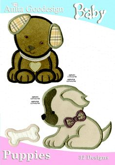Anita Goodesign | Baby Puppies - Anita Goodesign