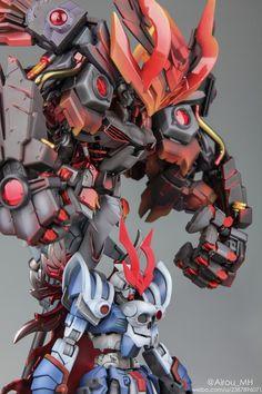 GUNDAM GUY: The Devil King of the Sixth Heaven - Diorama Build