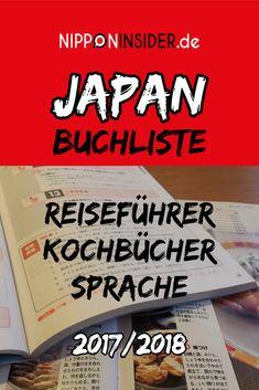 Japan Buchliste / Reiseführern Kochbücher Sprache | Nipponinsider