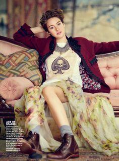 Shailene Woodley - Teen Vogue - April 2014