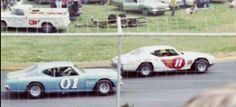 Sonny Hutchins 01 and Ray Hendrick 11 69 Chevelles NASCAR LMS at martinsville