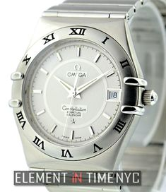 #Omega Constellation Perpetual Calendar 35mm iN Stainless Steel With A Silver Dial (1552.30.00)