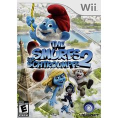 Game The Smurfs 2 - Wii