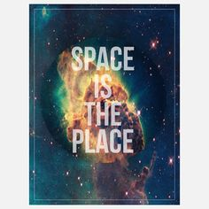 Space Is The Place, $26, by Pikselmatic !!