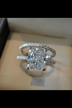 Courtesy Stylish Eve Wedding Engagement Diamond Rings Rant Cut Engraved
