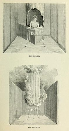 image from a massive late 19th century tome entitled simply Magic, subtitled Stage Illusions and Scientific Diversions, including Trick Photography, compiled and edited by Albert A. Hopkins.