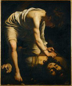 Michelangelo Merisi da Caravaggio, David victorious over Goliath (1600)