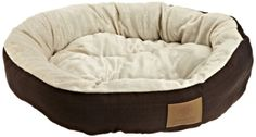 AKC Casablanca Round Solid Pet Bed American Kennel Club http://www.amazon.com/dp/B00AV5KQY4/ref=cm_sw_r_pi_dp_4V3vvb0NPP88Q