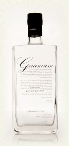 Geranium London Dry Gin - had this in a cocktail but want to try in a G&T. Sweet and floral.