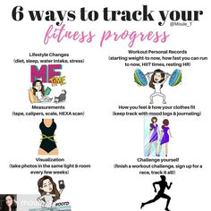 Tracking your progress doesn't have to mean the scale. Here are 6 ways to track your fitness progress Fitness Tips For Women, Fitness Workout For Women, You Fitness, Body Type Workout, Summer Body Workouts, Track Workout, Workout Schedule, Boxing Workout, Wellness Fitness