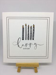 Geburtstag – Christina Ammann gifts for friends birthday creative Homemade Birthday Cards, Diy Birthday, Homemade Cards, Birthday Quotes, Birthday Gifts, Birthday Cards For Boyfriend, Birthday Cards For Friends, Girlfriend Birthday, Cute Cards