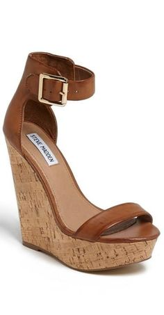 The perfect weekend wedge! so i kinda like these the top part is not so much my style