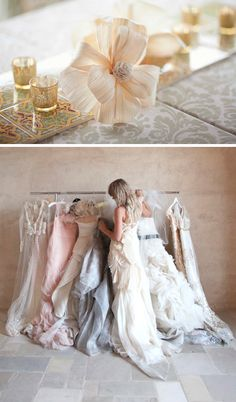Nude & blush bridesmade colours... maybe I am changing my ideas... :| #dawninvitescontest
