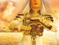 The Bride of Christ in the Armor of God and armed with the Sword of the Spirit, which is the Word of God