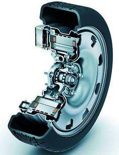 Protean Electric in-wheel Motors Tesla Motors, Triumph Motorcycles, Cars And Motorcycles, Custom Motorcycles, Electric Car Conversion, E Motor, E Mobility, Electric Cars, Electric Trike