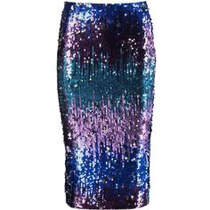 Boohoo Imogen Ombre Sequin Midi Skirt (74 BRL) ❤ liked on Polyvore featuring skirts, bottoms, ombre maxi skirt, purple maxi skirt, midi circle skirt, mini skirts and circle skirts