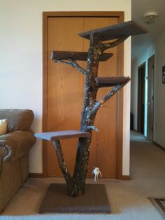 Cat tower tree perch
