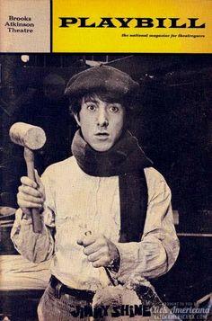 Dustin Hoffman plays himself in 'Jimmy Shine' on Broadway (1968)