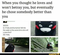 aish yoongi and army are so cute i want to die ---> OMG poor kumamon must be feeling betrayed don't worry you and I are the same kumamon BTW now I want to become holly Bts Bangtan Boy, Bts Boys, Jimin, Seokjin, Namjoon, Rapmon, Cypher Pt 4, Feeling Betrayed, About Bts