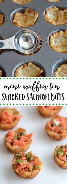 Easy smoked salmon bites make a great appetizer or party food.
