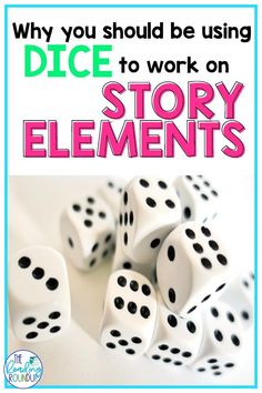 Dice Games are a fun and engaging way to change up your comprehension instruction. Find out how you can use this simple activity to practice story elements during literacy centers, guided reading groups, and independent reading. Download the printable resource to make retelling stories fun for your kindergarten, 1st, and 2nd grade students. #thereadingroundup #literacycenter #comprehension #firstgrade #2ndgrade Reading Games For Kids, Guided Reading Activities, Small Group Reading, Teaching Activities, Reading Resources, Reading Groups, Literacy Centers, Activity Centers, Story Elements Activities