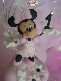Minnie Mouse Cake Bolo Minnie, Mickey Cakes, Mickey Mouse Cake, Minnie Mouse Pink, Minnie Mouse Cake, Mickey Minnie Mouse, Minnie Birthday, Birthday Cake Girls, Cake Icing Tips