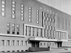 Odkrywamy Wrocław: Dawne kino Lwów, Przodownik i siedziba Odd Fellows Odd Fellows, Art Deco Buildings, Beautiful Buildings, Modernism, Poland, Black And White, Places, Photos, Cinema